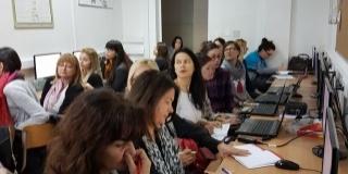 Les ateliers en Dalmatie continuent!